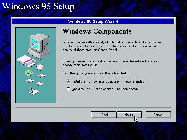 Gambar 11. Jendela setup Windows Components