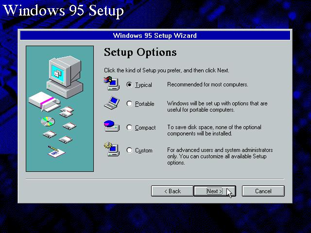 Gambar 7. Setup meminta kamu untuk memilih jenis instalasi