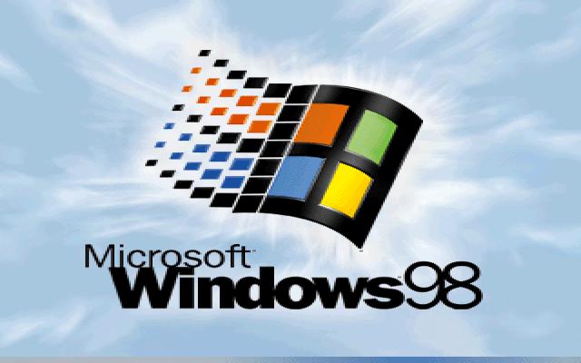 Gambar 17. Boot screen Windows 98