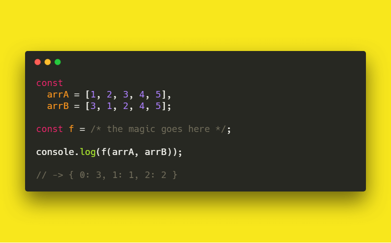 Find Different Values and Its Indices between Two Arrays in JavaScript